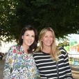 Caroline Barclay et Sarah Lavoine - Soirée d'inauguration de la 35ème fête foraine des Tuileries au Jardin des Tuileries à Paris, le 22 juin 2018. © Coadic Guirec/Baldini/Bestimage