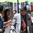 Joe Jackson se rend chez le docteur accompagné de sa femme Katherine Jackson à Beverly Hills, le 17 août 2016