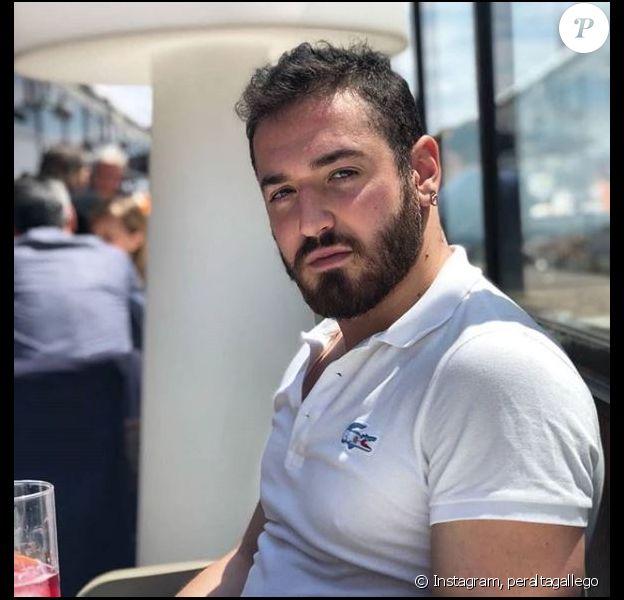 Carlos Peralta prend la pose sur Instagram, mai 2018