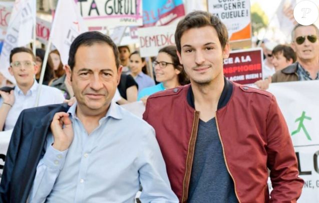 Jean-Luc Romero a partagé cette photo de lui et de son défunt mari Christophe Michel sur Twitter, le 29 juin 2018.