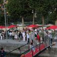 Ambiance - 6ème édition du Trophée de la Pétanque Gastronomique au Paris Yacht Marina à Paris, France, le 28 juin 2018. © Philippe Baldini/Bestimage