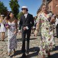 Le prince Nikolai de Danemark a pu compter le 27 juin 2018 sur la présence de sa mère la comtesse Alexandra de Frederiksborg lors de sa cérémonie de remise de diplôme à l'école privée d'Herlufsholm.