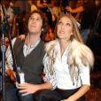 Josh Gorban et Céline Dion - La chanteuse reçoit le Diamond World Music Award à Las Vegas, en 2004