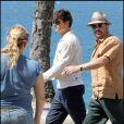 Johnny Depp sur le tournage de The Rum Diary à Puerto Rico