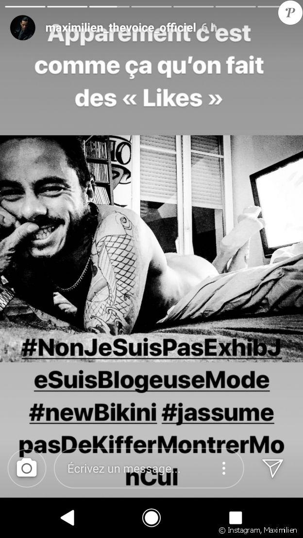 Maximilien Philippe - Instagram, dimanche 8 juillet 2018