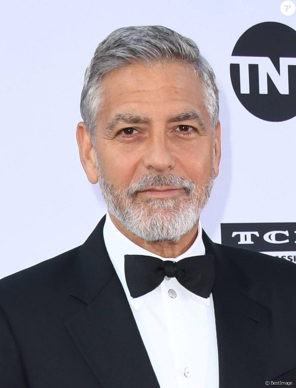 """George Clooney - People à la soirée annuelle """"AFI Life Achievement Award"""" à Los Angeles. Le 7 juin 2018 © Birdie Thompson / Zuma Press / Bestimage"""