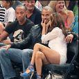 Thierry Henry et sa compagne Andrea, Tony Parler et Eva Longoria à New York en 2010.