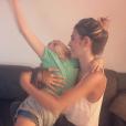 Alexandra Rosenfeld et sa fille Ava sur une photo publiée sur Instagram le 2 septembre 2017