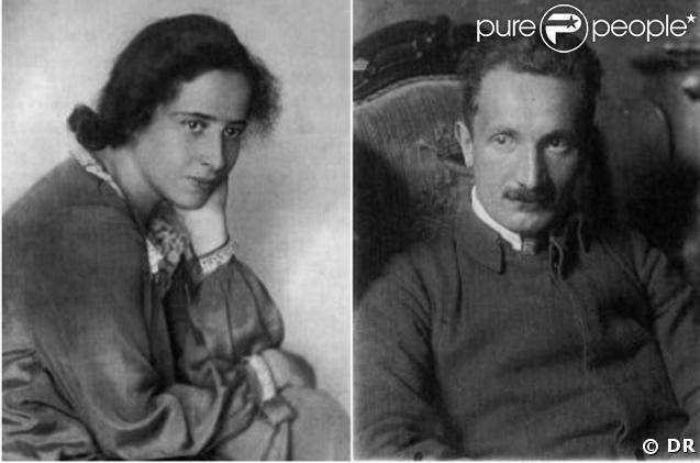 Hannah Arendt et Martin Heidegger dans les années 1920
