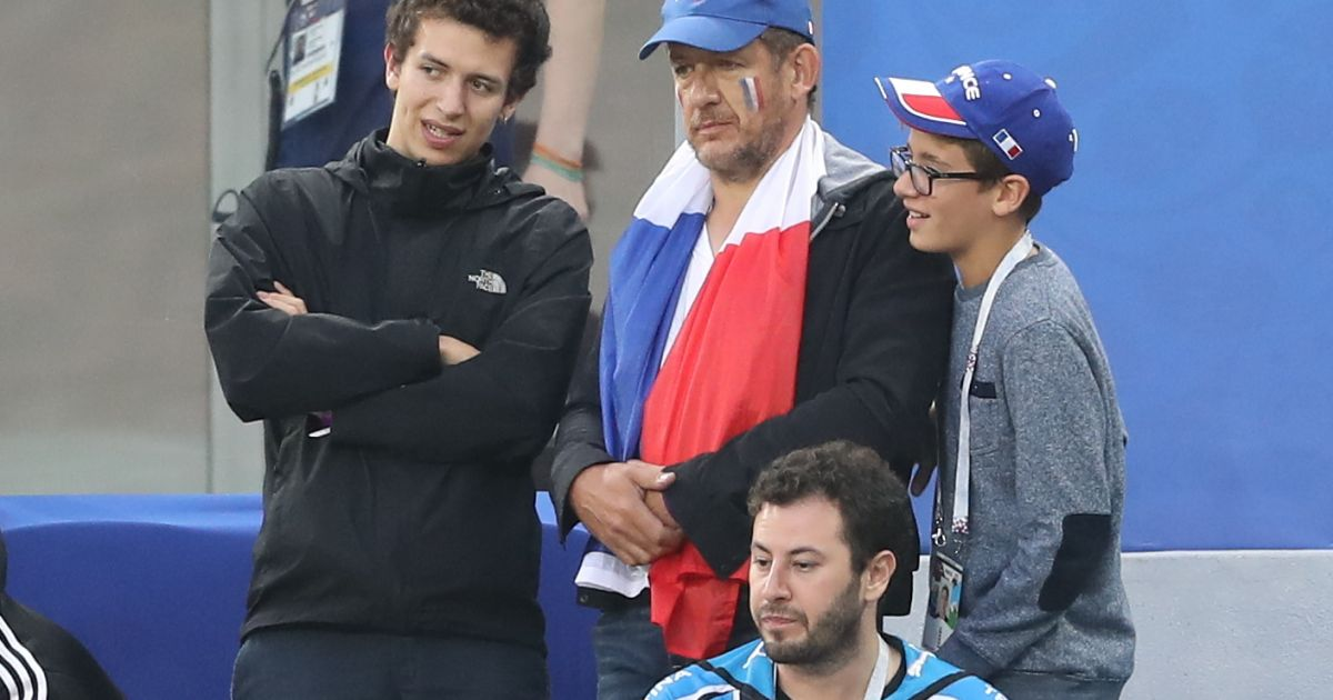 France Belgium Dany Boon And Patrick Bruel Are Happy About Their Sons