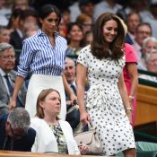 Kate Middleton et Meghan Markle: Chic complices à Wimbledon pour Serena Williams
