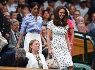 Kate Middleton et Meghan Markle: Chic complices à Wimbledon pour Serena Williams