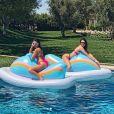 Kourtney Kardashian et Kendall Jenner. Mai 2018.