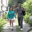 Kourtney Kardashian et son compagnon Younes Bendjima se promènent en amoureux à Rome le 21 juin 2018.