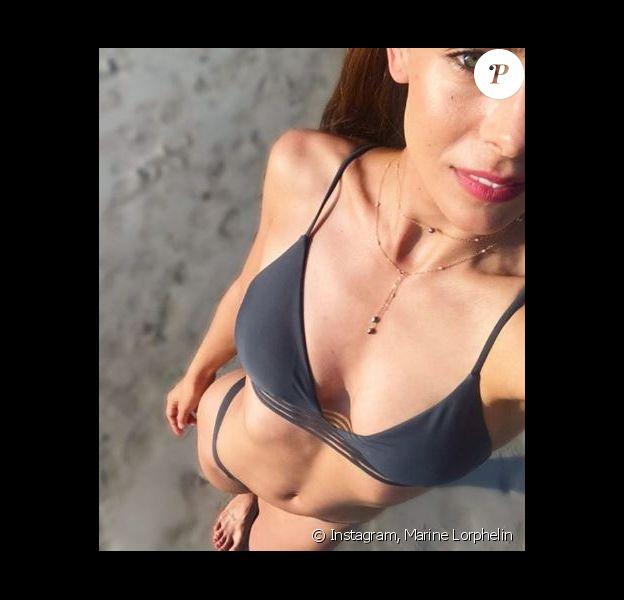 Marine Lorphelin en vacances à Nouméa - Instagram, 15 juillet 2018
