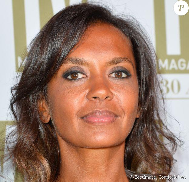 Exclusif - Karine Le Marchand - Soirée d'anniversaire des 30 ans de TV Magazine au Pavillon des Champs-Elysées à Paris le 17 octobre 2017. © Coadic Guirec/Bestimage