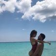 Nabilla sexy dans les Bermudes à la mi-juillet 2018 avec son chéri Thomas Vergara.