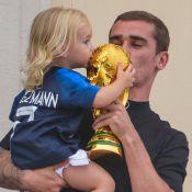 Antoine Griezmann : Champion ovationné à Mâcon, sa petite Mia mini-footballeuse