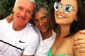 Didier Deschamps en vacances à Saint-Tropez avec Valérie Bègue et Nagui