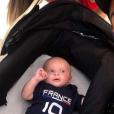 Manon Marsault, Julien Tanti et leur fils Tiago - Instagram, 15 juillet 2018