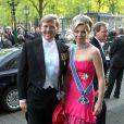 La princesse Maxima des Pays-Bas et son époux le prince héritier Willem-Alexander