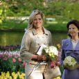 La princesse Maxima des Pays-Bas et la reine Silvia