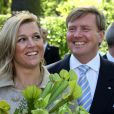 La princesse Maxima des Pays-Bas et son époux