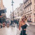 Gerda, la petite amie d'Adrien Laurent, à Paris - Instagram, 23 juillet 2018