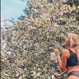 Gerda, la nouvelle petite amie d'Adrien Laurent, en sous-vêtements à Siluva - Instagram, 13 juillet 2017