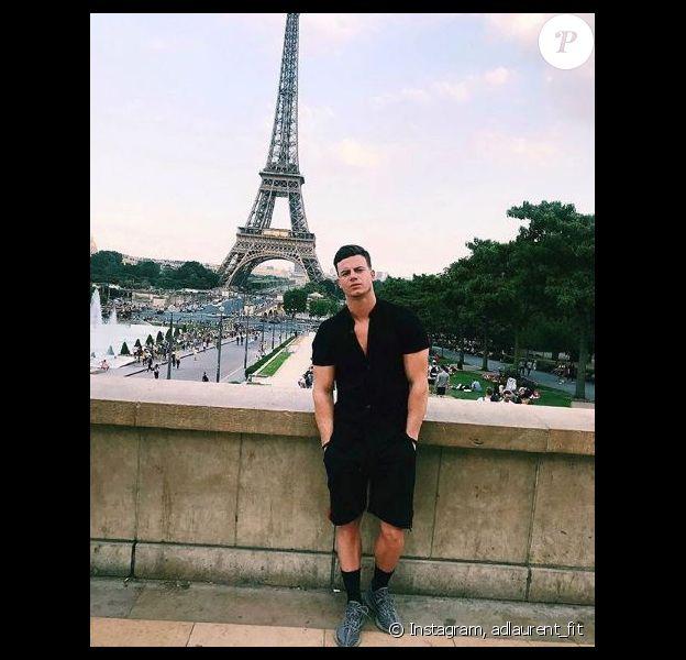Adrien Laurent à Paris -Instagram, 13 juillet 2018