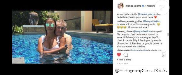 Pierre Ménès insulte un internaute en commentaire - Instagram, 26 juillet 2018