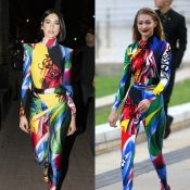 Gigi Hadid et Dua Lipa : Deux oeuvres d'art, elles craquent pour le même look