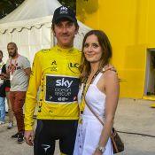 Geraint Thomas : Vainqueur du Tour de France, félicité par son épouse