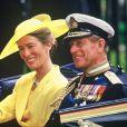 Le prince Philip, duc d'Edimbourg au mariage du prince Andrew et de Sarah Ferguson le 21 juillet 1986.