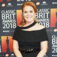 Sarah Ferguson, duchesse d'York, à la cérémonie des Classic BRIT Awards au Royal Albert Hall à Londres le 13 juin 2018.