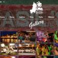 Le Basil's Bar sur l'île Moustique, capture d'écran du site officiel de l'établissement.