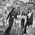 Kim Kardashian, Kendall Jenner, Kourtney Kardashian, Kylie Jenner et Khloé Kardashian sur la campagne automne 2018 de CALVIN KLEIN JEANS et CALVIN KLEIN UNDERWEAR.