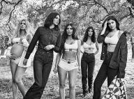 Les Kardashian : Sublimes égéries de CALVIN KLEIN, Khloé enceinte et radieuse