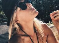 Estelle Lefébure : Torride au bord de la piscine, ses admirateurs séduits