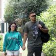 Kourtney Kardashian et son compagnon Younes Bendjima se promènent en amoureux à Rome le 21 juin 2018