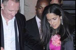 Découvrez la sublime robe de mariée de Salma Hayek ! Elle était MA GNI FI QUE !