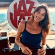 Carla Bruni au Festival Jazz à Juan, le 17 juillet 2018.