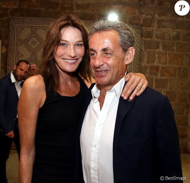 Carla Bruni Sa Tendre Photo De Nicolas Sarkozy Avec Leur Fille Giulia Purepeople
