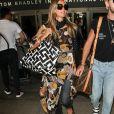 Heidi Klum à l'aéroport LAX à Los Angeles, le 12 août 2018.