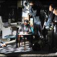 """Johnny Hallyday, sur le tournage de """"Vengeance"""", de Johnnie To, qui sera présenté lors du 62e Festival de Cannes, qui se tiendra sur la Croisette du 13 au 24 mai !"""