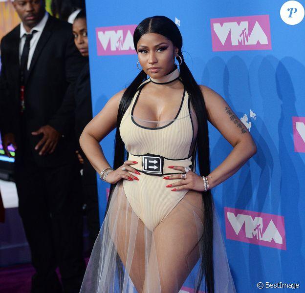 Nicki Minaj - MTV Video Music Awards 2018 au Radio City Music Hall. New York, le 20 août 2018.