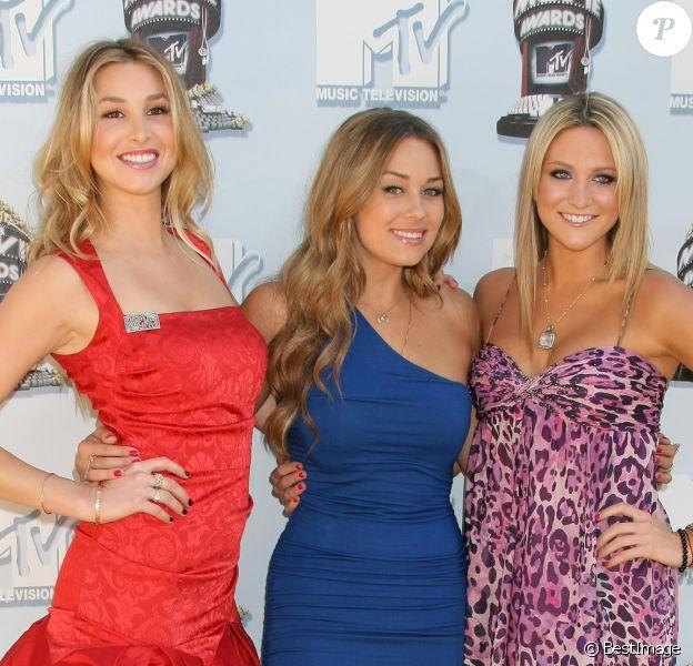 Whitney Port, Lauren Conrad et Stephanie Pratt en 2008.