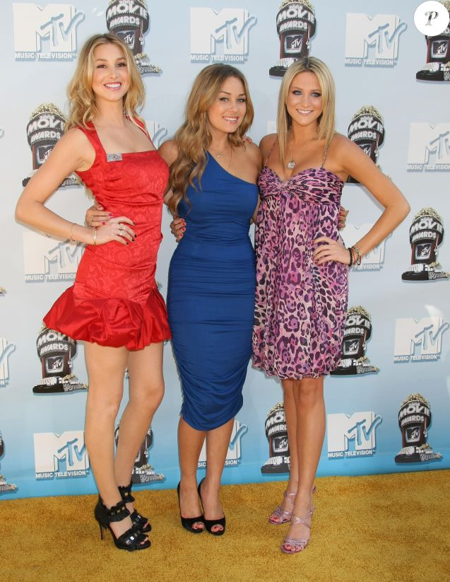 Whitney Port, Lauren Conrad et Stephanie Pratt en 2008.