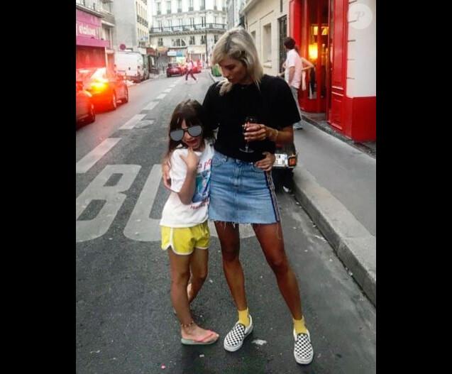 Alexandra Rosenfeld et sa fille Ava - Instagram, 7 juillet 2018