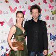 Jennifer Love Hewitt et son compagnon Jamie Kennedy, la jeune femme blessée l'an dernier à retrouver l'amour ! - Soirée LG Rumorous Night à Hollywood le 28 avril 2009